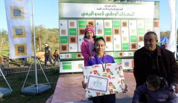 Ténès : championne d'Algérie, Dahmani Yamina, une athlète hors pair