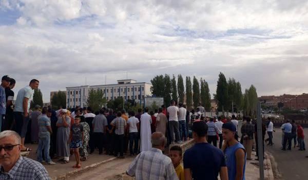 Beaucoup de Tiaretis ont entendu l'explosion ce matin.