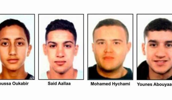 Les terroristes de la Catalogne.