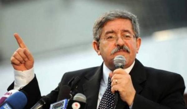 Le nouveau premier ministre Ahmed Ouyahia.