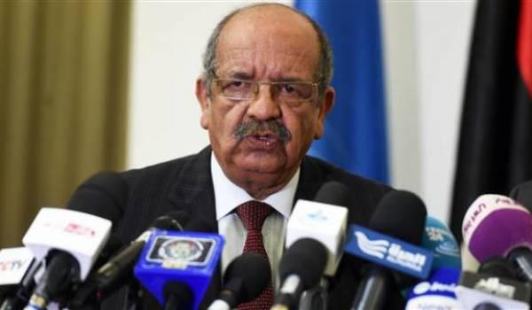 Abdelkader Messahel, ministre des Affaires étrangères.