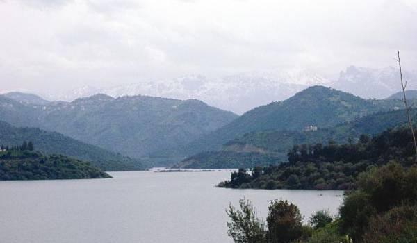 Le barrage de Taksebt.