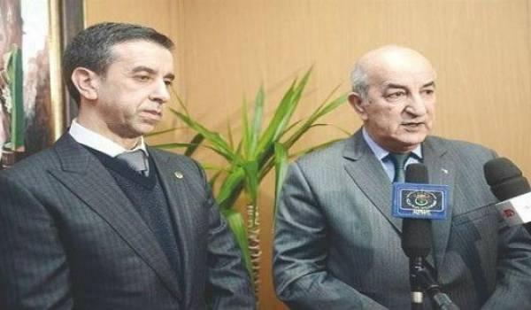 Ali Haddad et Abdelmadjid Tebboune.