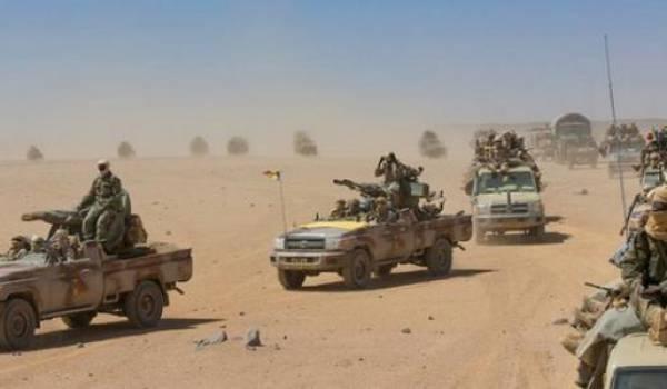 Les rebelles tchadiens se sont établis depuis plusieurs mois dans le sud libyen.