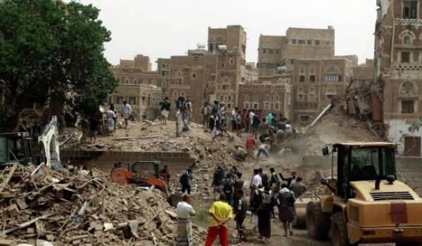 L'Arabie saoudite appuyée par des pays arabes mène une impitoyable guerre au Yémen.