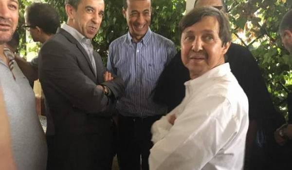 Said Bouteflika avec ses amis hommes d'affaires.