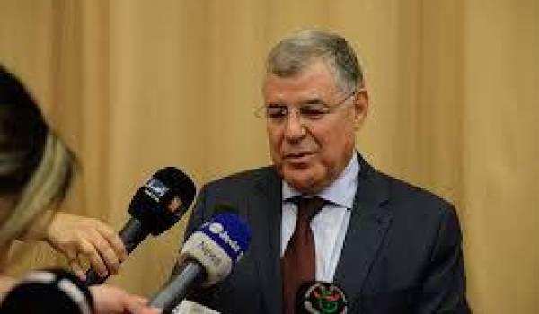 Le ministre de l'Energie, Moustapha Guitouni