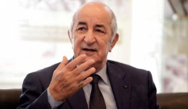 Abdelmadjid Tebboune. limogé par les oligarques.