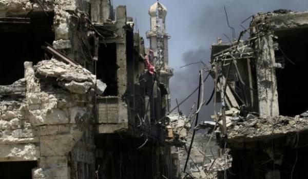 L'Irak dévasté.
