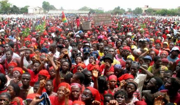 Grande mobilisation populaire contre le pouvoir à Lomé.