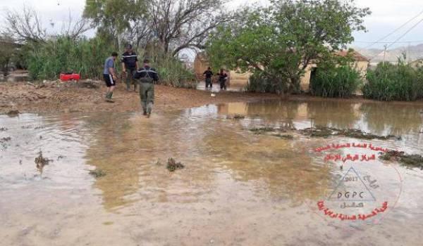 Les pluies ont fait des dégâts à Batna.