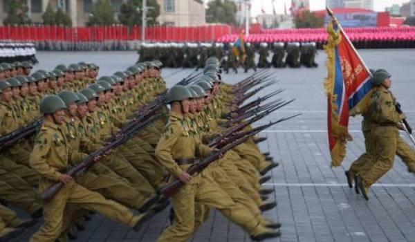 La Corée du Nord, un pays hypermilitarisé.