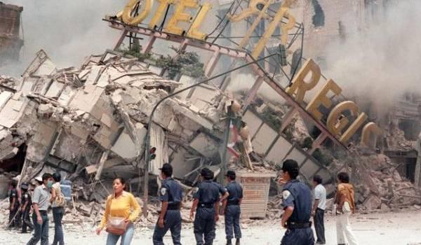 Un fort séisme a touché le centre du Mexique mardi. Photo AFP