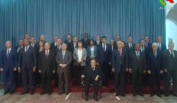 Le gouvernement Bouteflika-Ouyahia