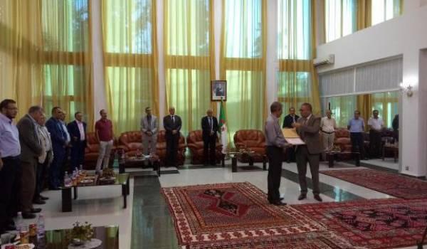 5.2 milliards de cts ont été octroyés au Chabab Aurès de Batna