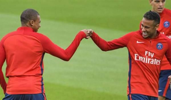 Mbappe et Naymar.