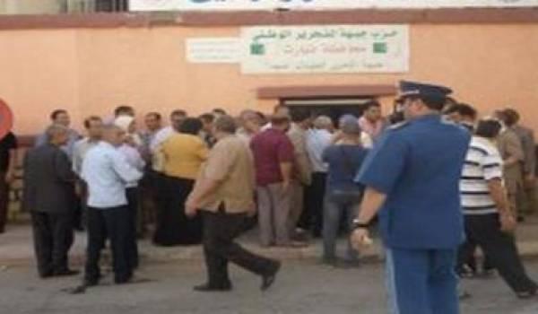 Pendant les dernières législatives des bagarres ont éclaté entre militants du FLN a Tiaret.