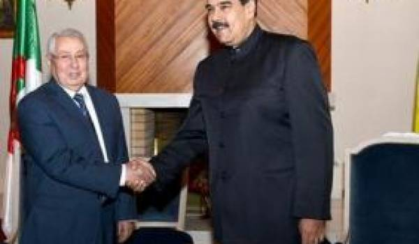 Maduro et Bensalah