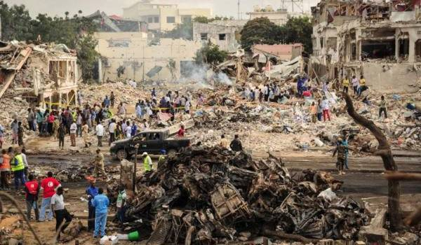Les shabab font un innommable carnage. Photo AFP
