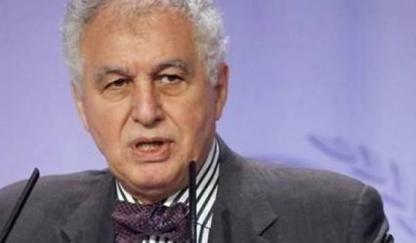 Sid Ahmed Ghozali, ancien Premier ministre entre le 5 juin 1991 et le 8 juillet 1992