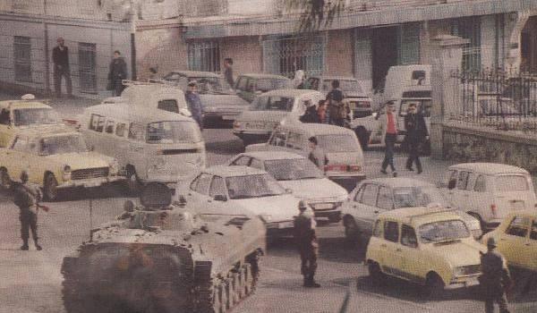 Alger, lendemains du 5 octobre 1988. Il y a 29 ans.