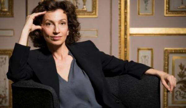 Audrey Azoulay, DG de l'Unesco.