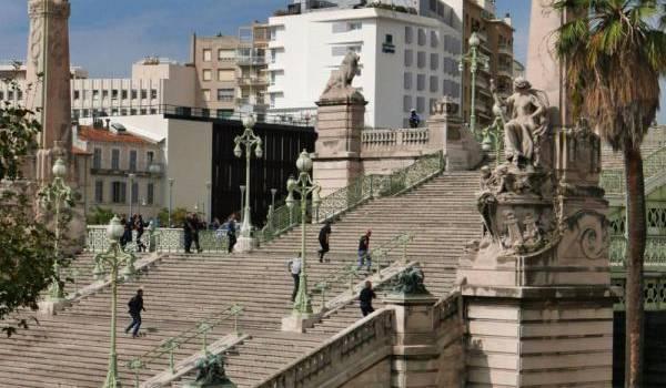 La gare Saint-Charles de Marseille.