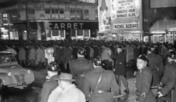 Rares sont les images de ce massacre commis par la police française contre des Algériens en 1961.