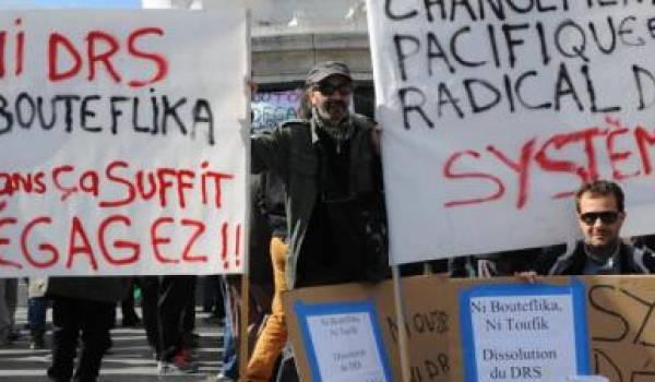 Manifestation à la veille de la présidentielle de 2014. Photo Radio France.