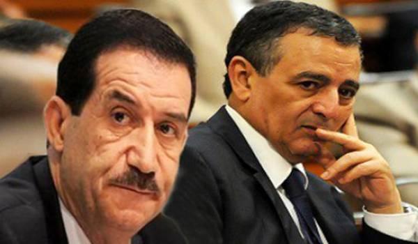 Amar Ghoul et Abdeslam Bouchoureb.