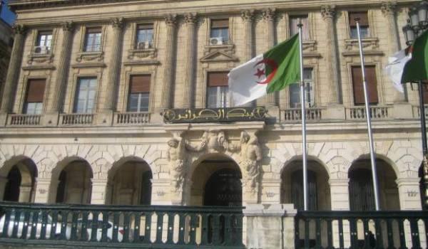 La Banque d'Algérie financement le Trésor public.