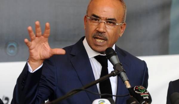 Noureddine  Bedoui, ministre de l'Intérieur et des collectivités locales.