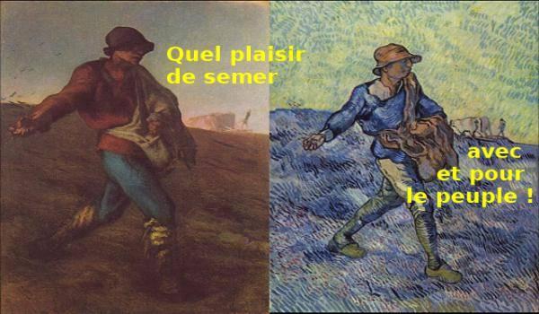 """Jean-François Milet : """"Le semeur""""."""