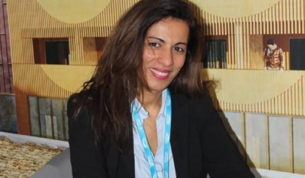 Meriem Belazouz, fondatrice et porteuse de projet Salon Coworking