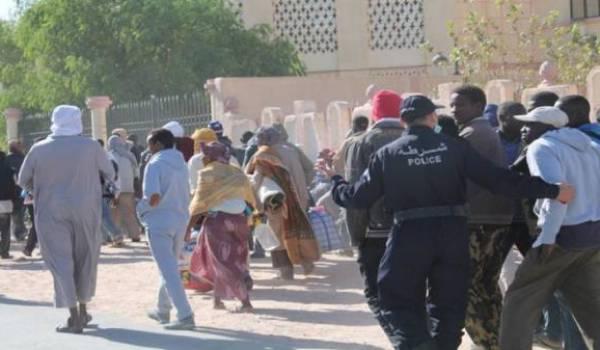 Les autorités expulsent par centaines les subsahariens en situation irrégulière