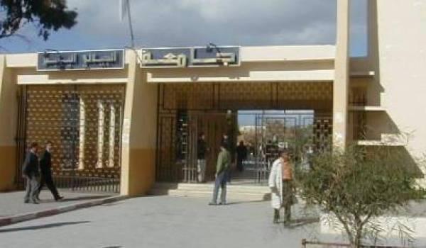 L'université Djillali Liabès de sidi Bel Abbès.