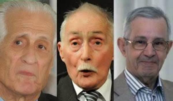 Ali Yahia, Benyellès et Taleb-Ibrahimi appellent à faire barrage à un 5e mandat de Bouteflika