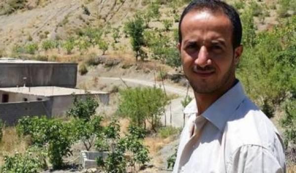 Le jeune blogueur Merzoug Touati en grève de la faim.