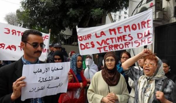 Le pouvoir par le biais de l'ENTV remue le couteau dans la plaie des familles de victimes de terrorisme.