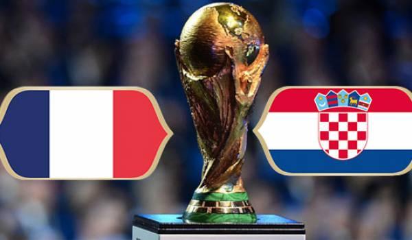 Finale coupe du monde 2018 : France Croatie