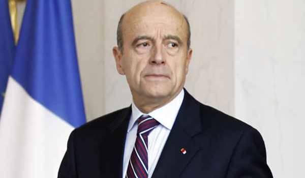 Alain Juppé, ministre français des Affaires étrangères.