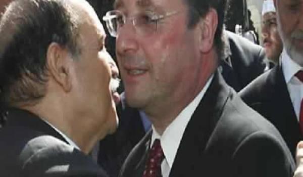 Bouteflika et Hollande
