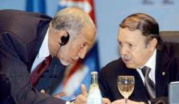 Belkhadem : le porte-voix de Kadhafi