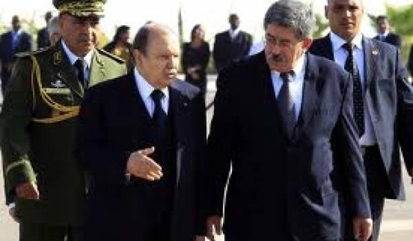 Abdelaziz Bouteflika et Ahmed Ouyahia