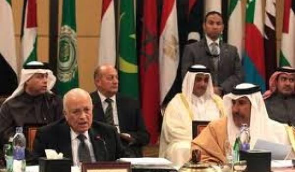 Le Qatar veut entrainer la Ligue arabe dans une intervention militaire.