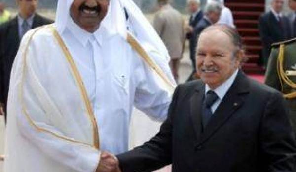 Bouteflika avec l'Emir du Qatar