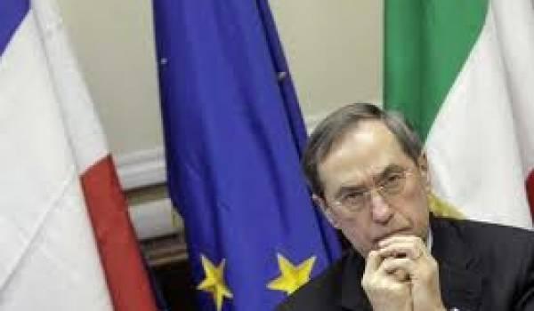 Claude Guéant, le ministre de l'Intérieur français.