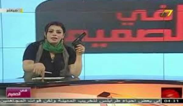 La journaliste dans une de ses dernières apparitions télévisuelles.