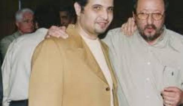 Le SG de la Centrale syndicale et Moumène Khalifa.