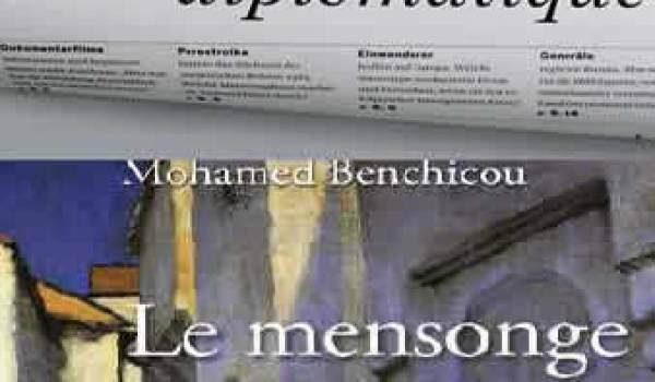 La jaquette du dernier roman de Mohamed Benchicou.